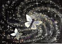 Fluttering Galaxy