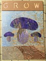 Mushrooms Grow set of 4 ATCs