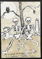 Homage to Disney's 1929 Silly Symphonies Skeleton Dance