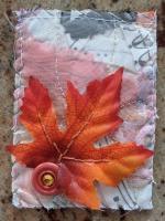 Fabric ATC - Fall Leaf