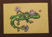 Salamander x Blue Chiffon Rose