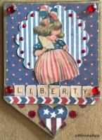 Vintage Patriotic Banner Swap