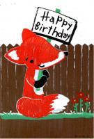 Fox Birthday RAK