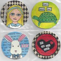 Alice in Wonderland Coins