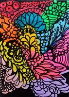 Acrylic Doodle 3