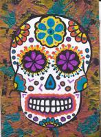 Sugar Skulls for El Dia De Los Muertos swap