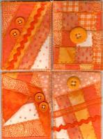 Monochromatic Orange Cards