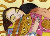 Detail from Klimt's 'Stoclet Palace Preparatory Design'