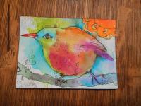 """Bird Under Sun"""