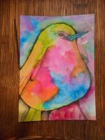 """""""Blue Belly Bird"""""""
