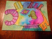 """""""Orange Tail Fish"""""""