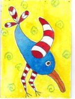 Zetti winged blue bird 2015-76