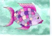 Shiny Purplish Fish 2016-91