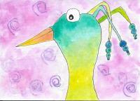 Beaded Bird 2018 #9