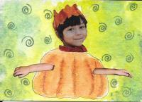 Pumpkin Child #1  15-96