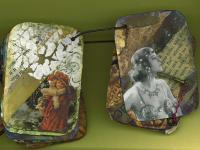 Gesso & Rust Acrylic - Leighanna Light Vintage Metal Deck