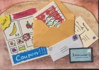 Postage stamp atc - Christmas...
