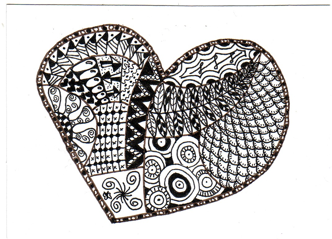 Atcsforall Gallery Zendoodle Heart