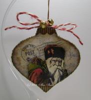 North Pole Post Ornament