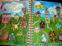 Moo House journal spread