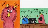 Hand drawn Muppets swap