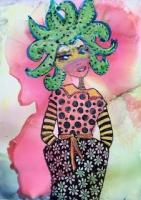 Steampunk Wild Flower Girl
