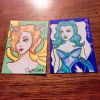 Zodiac Girls  Swap Capricorn, Sagittarius, and Aquarius