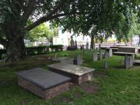 Cemetery in Newport, Rhode island