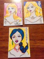 Zodiac girls Virgo, Libra, Scorpio