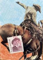 Postage stamp swap: heads