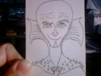 Megamind ATC Sketch