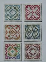 Stitched inchies 1-6