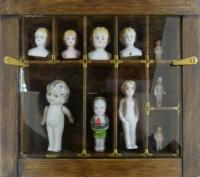 Cabinet of Frozen Charlottes