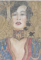 Judith after Klimt