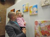 Jairo and Senna at the Art Expo
