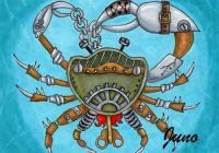 Steampunk Sealife. Crabe