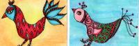 whimsical bird swap